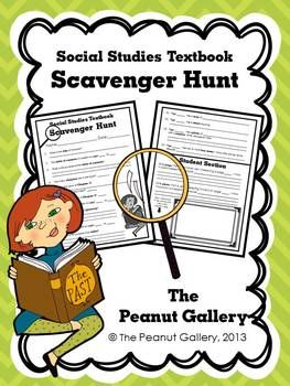 Get students looking through their social studies textbooks as soon as you distribute them with this social studies textbook scavenger hunt activity. ($)