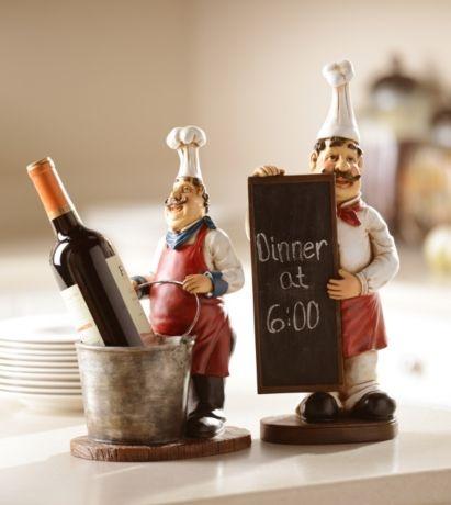 Black Red Pasta Chef Italian Kitchen Decor And Accessories