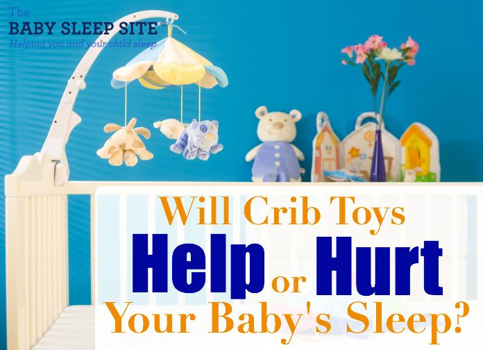 Crib toys: they're cute and fun, and they can be a great way to entertain your little one, but what do they mean for your baby's sleep? A concern we hear from many parents is that they are worried about their babies playing with their toys, instead of actually sleeping...however, other parents think crib toys provide a great way for baby to soothe to sleep independently. Do crib toys hurt baby sleep, or help?