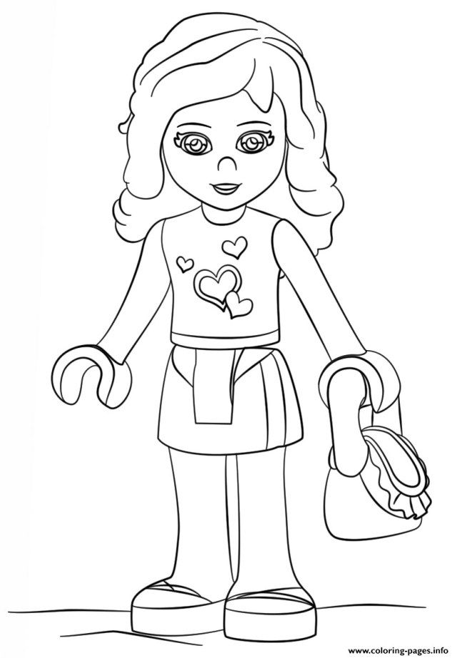 Coloring Page Az Coloring Pages Lego Friends Birthday Party Lego Friends Birthday Lego Coloring Pages