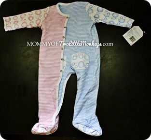 gender neutral baby clothes - REVERSIBLE what