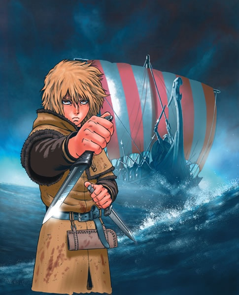 Vinland Saga: Only Viking manga out there.. and definitely one of the best Manga of all time..