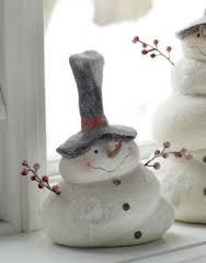 snowman craft - craftklatch - Google Search