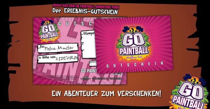 NEUES AUS DEM PARK: Dein Erlebnis-Gutschein - #Adventurepark, #Bachelorparty, #Berlin, #Bestoftheday, #Birthdayparty, #Brandenburg, #Dyepaintball, #Follow, #Followme, #Freizeitpark, #Friends, #Fun, #Gisportz, #Gopaintball, #gopaintballadventurepark, #Happy, #Hkarmy, #Like, #Paintball, #Paintball4Life, #Paintballer, #Paintballfield, #Paintballing, #Photooftheday, #Picoftheday, #Planeteclipse, #Speedball, #Woodland, #Woodsball - http://www.go-paintball.de/neues-aus-dem-park-dei