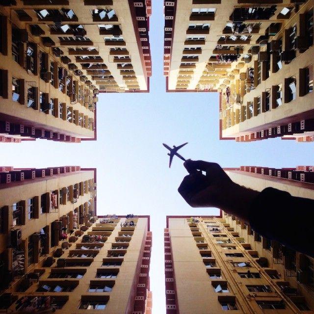 MY Toy Plane – by Varun Thota #foto #fotografia #fotografo #aviao #brinquedo #paisagem #cidade #predio #photo #photography #photographer #plane #airplane #toy #landscape #city #building #varun #thota