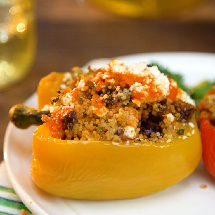 Looking for a great vegetarian side this summer? These Mediterranean couscous-stuffed peppers are a must, and they pair perfectly with refreshing Gold Peak Green Tea.[SPONSORED]