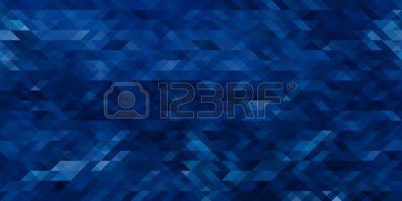 fondo multicolor: Abstracto azul triángulo geométrico fondo transparente horizontal. Ilustración vectorial