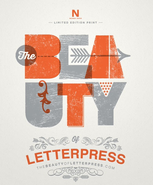 The extraordinary beauty of letterpress printing with new website, TheBeautyofLetterpress.com