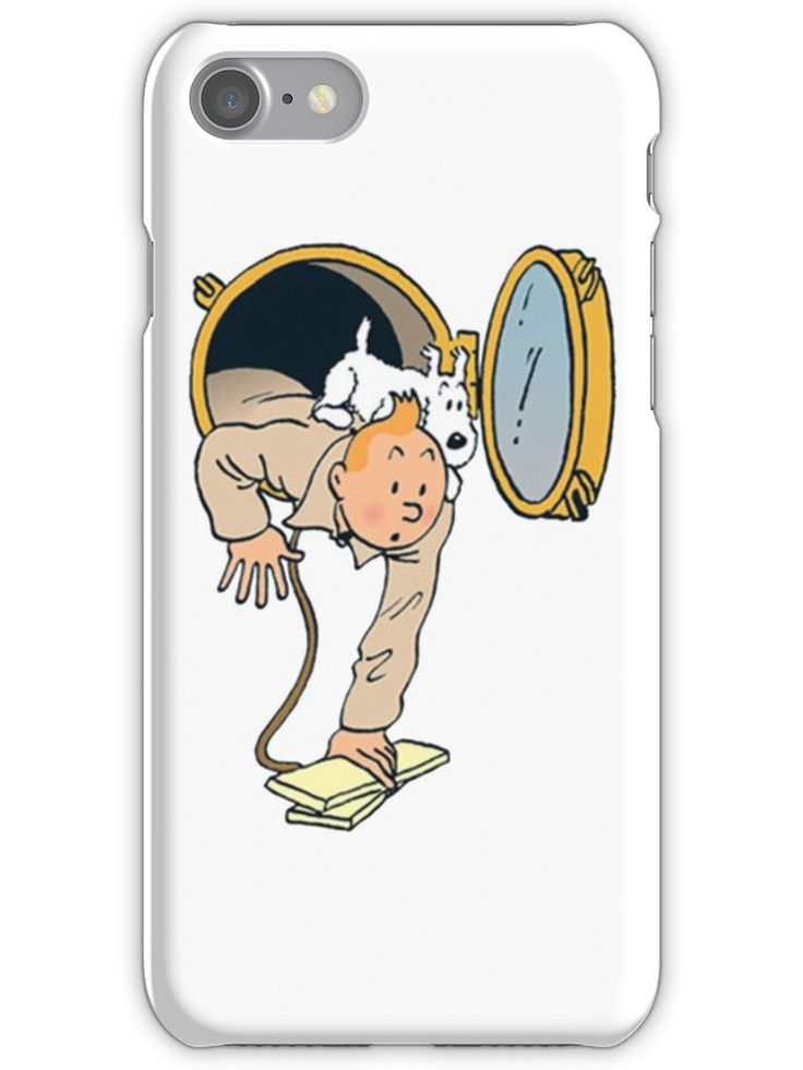 Tintin iPhone 7 Snap Case