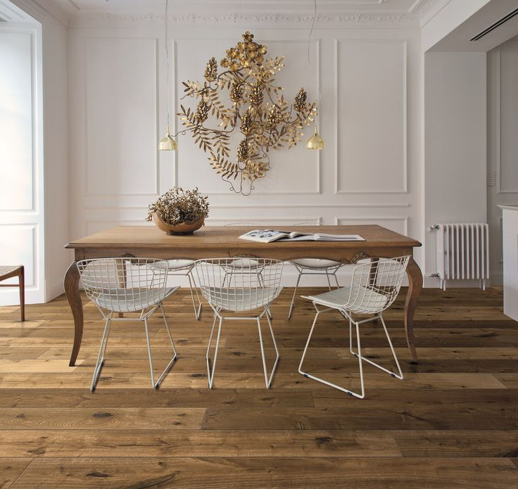 Parquet Kalika, Impression collection. #wood #kitchen #diningroom #nature #floor #oak