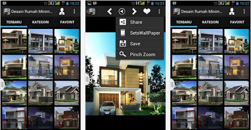 Aplikasi Desain Rumah Minimalis Android Gratis