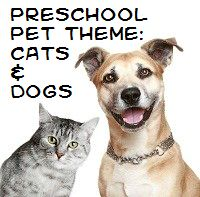Pets - Cats and Dogs Theme and Activities for preschool/SONGS plus lots of other themes.   -Repinned by Totetude.com