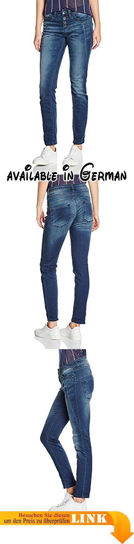 TOM TAILOR Damen Jeanshose Jeans Relaxed Tapered Denim Blau (Stone Wash Denim 1054), W30/L30 (Herstellergröße: 30). Relaxed #Apparel #PANTS