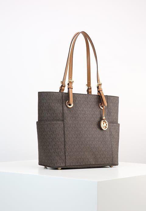 Köp  MICHAEL Michael Kors JET SET - Handväska - brown för 1895,00 kr (2017-04-23) fraktfritt på Zalando.se