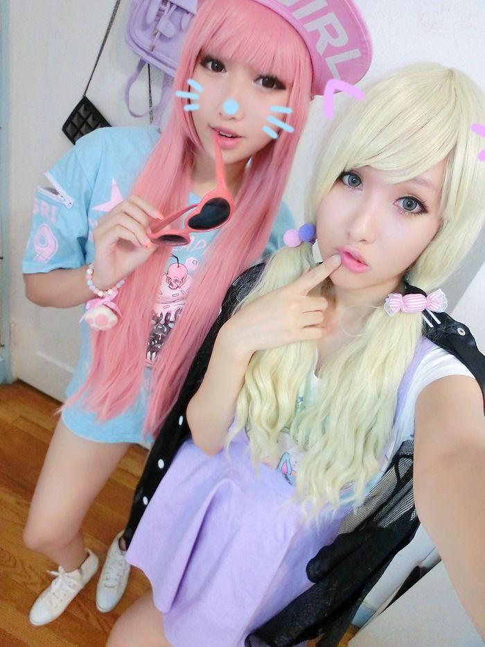 Moda Kawaii, Moda Japonesa, Lolita Del Kawaii, La Moda De Harajuku, Moda Asiática, Estilo De La Calle, Colores Pastel, Estilos Pastel