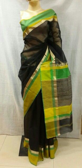 Our Royal Silk by cotton Handwoven spree . To purchase call or what's app on 09755425339 email at - osmhandicrafts@gmail.com