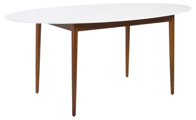 "Manon 63"" Oval Dining Table"