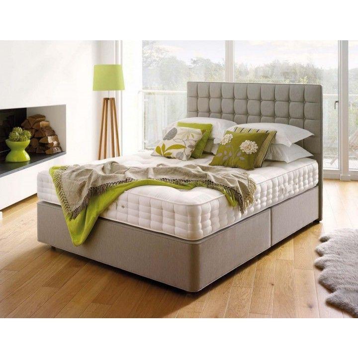 Hypnos Orthos Cashmere Super King Size Zip & Link Divan Bed for £1,643.50