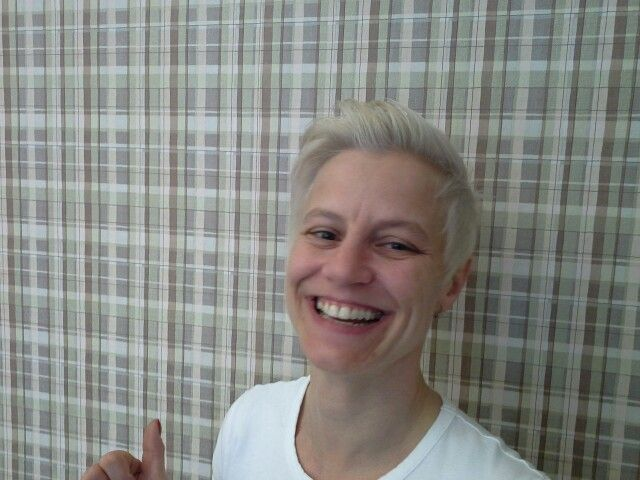 Joico blond smile!