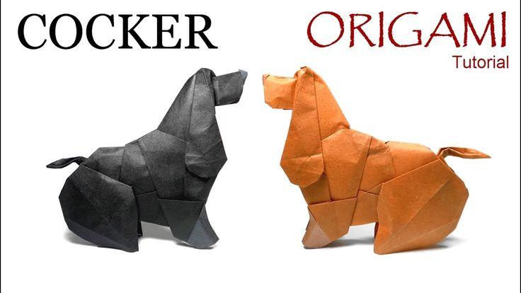 Origami Cocker Tutorial (Barth Dunkan): Cómo hacer un Cocker en Origami Diseñado por Barth Dunkan ======================================== ======================================== Nivel de dificultad: intermedio Papel recomendado: tissue foil: 30cm x 30cm Website: http://ift.tt/2dVCdlI Instagram: http://ift.tt/2e9Aq7U Flickr: http://ift.tt/2dVCeGi ======================================== Music: Acoustic Guitar Mariano Zavala B.