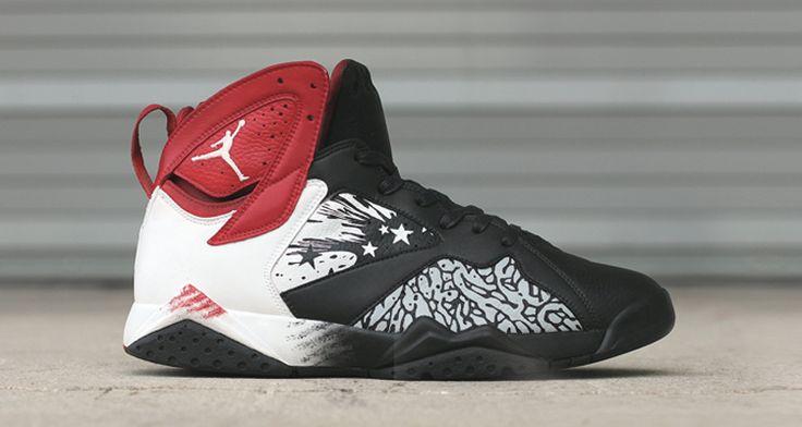 Air Jordan 7 Dave White Custom