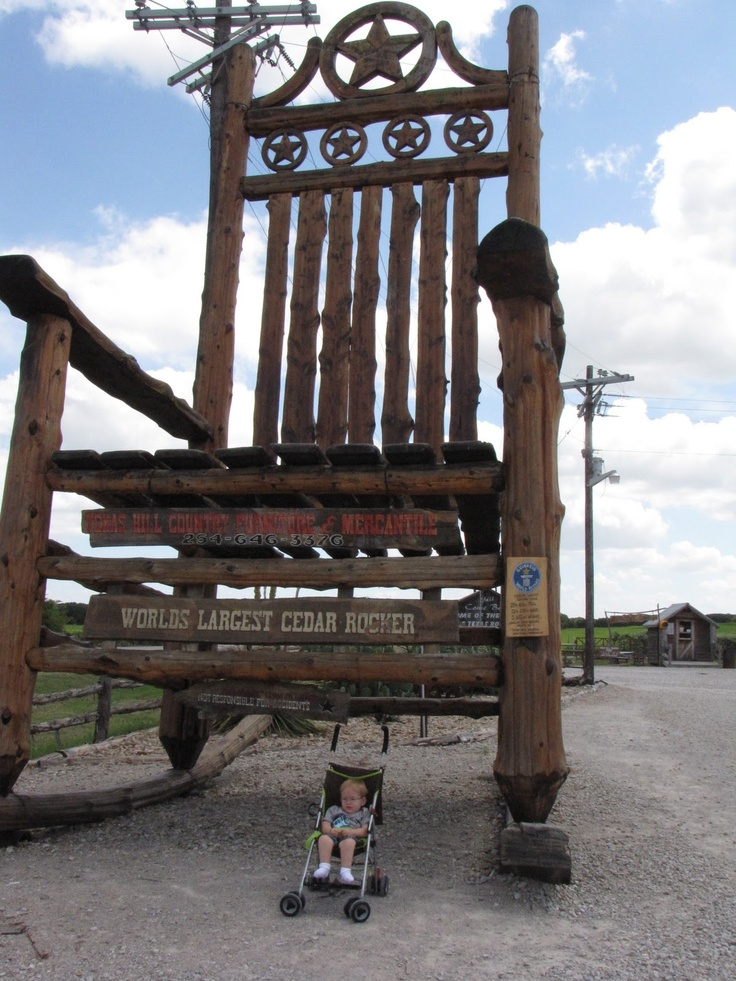 Awesome The Star Of Texas Rocker, Texas Hill Country Furniture And Mercantile,  Lipan, Texas