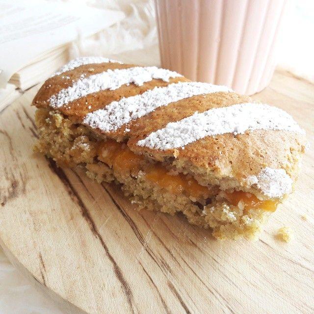 KINDER BRIOSS con confettura di albicocche e farina integrale di avena