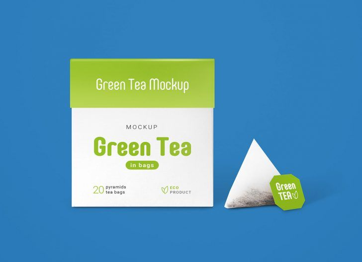 Download Free Tea Bags Packaging Mockup Set Free Package Mockups Packaging Mockup Free Packaging Mockup Tea Bag