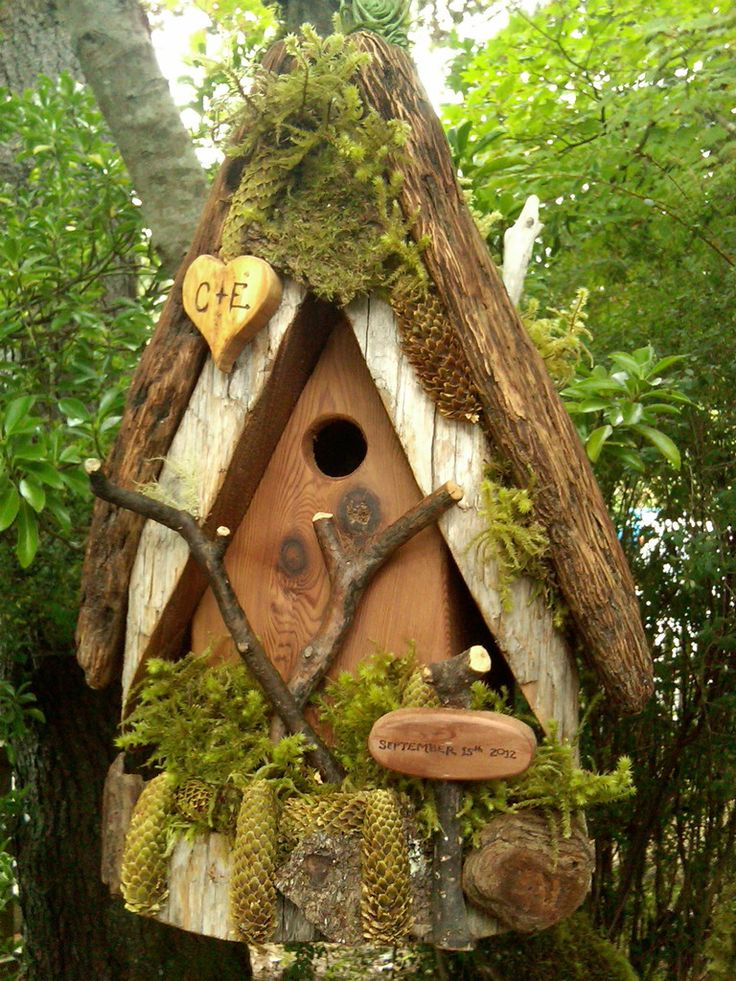 Elegant Bird Houses | Given Back Gifts: An elegant touch
