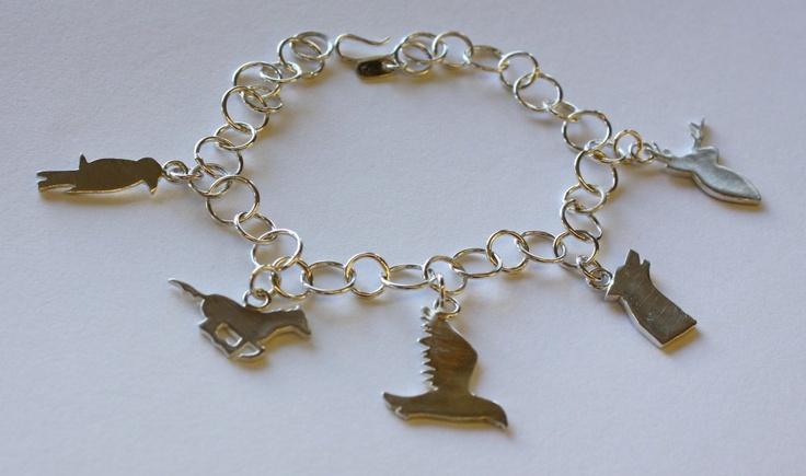 Buster Collins Wild Wood Charm Bracelet