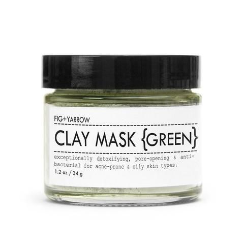 Fig and Yarrow Clay Masks