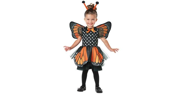 Monarch Butterfly Infant/Toddler Costume | BuyCostumes.com
