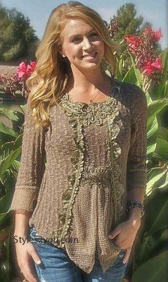 Pretty Angel Clothing victorian western blouse from Styles2you.com