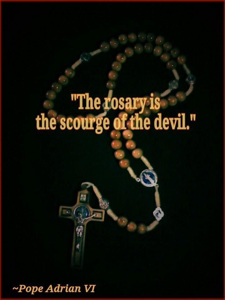 Pray the Rosary.