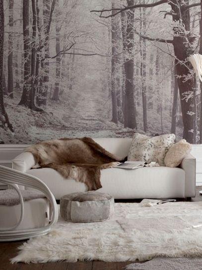 Optical illusion living room - house to home - photo by Katya De Grunwald
