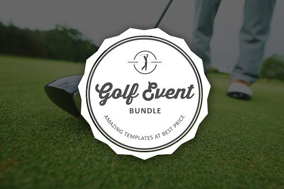 Golf Event Mega Template Bundle   @creativework247