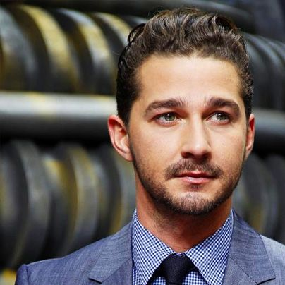 Shia LaBeouf | Slicked-Back & Sophisticated #PMTS #blog http://www.examiner.com/article/a-shia-labeouf-nsa-statement-back-2008-comes-as-a-shocker