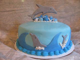 Homemade By Heather 33: Dolphin Birthday Cake