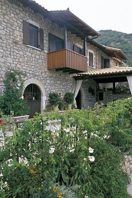 The traditional Ionian Lyre Guesthouses in the hinterland