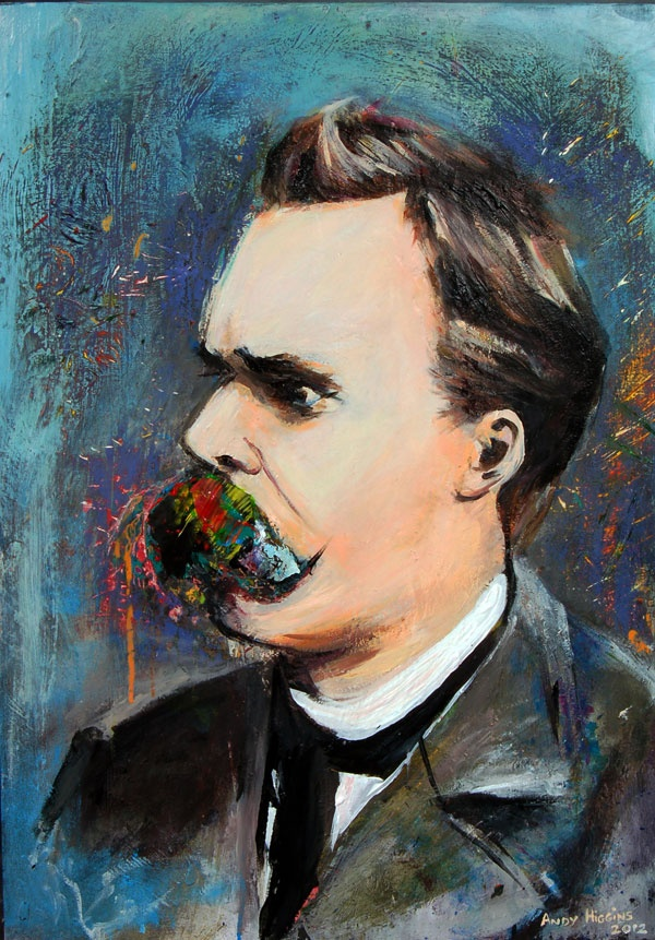 Image of the Day entitled 'Friedrich Nietzche' by Andy Higgins taken from onesmallseed.net and featured on onesmallseed.com.