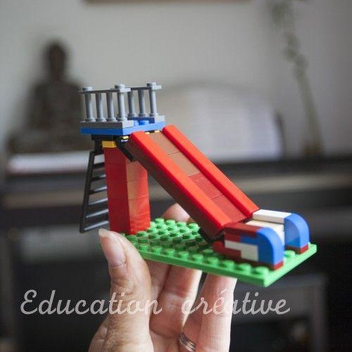 Toboggan Lego / Lego playground slide