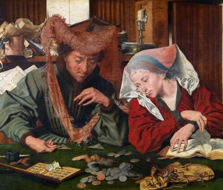 Маринус ван Реймерсвале / Marinus van Reymerswaele (1490-1567. Нидерланды). Обсуждение на LiveInternet - Российский Сервис Онлайн-Дневников