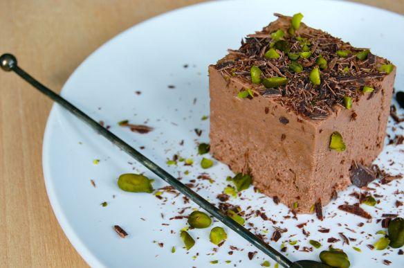 Skøn chokolademousse af mørk chokolade med det blideste hint af appelsin og kaffe