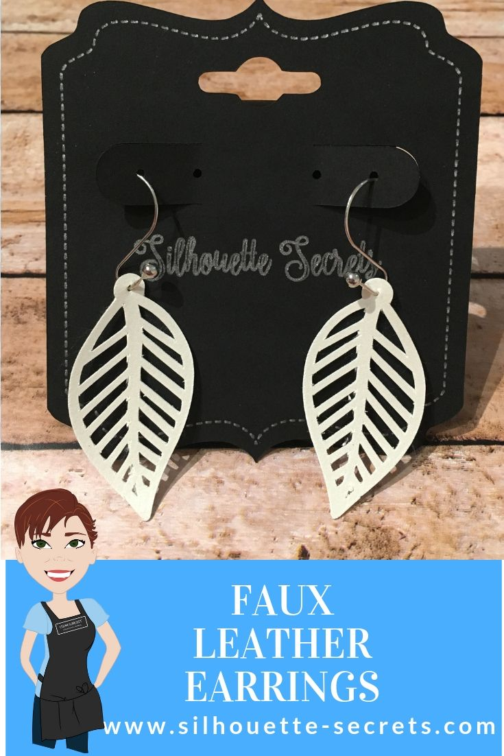 41++ Making leather earrings with silhouette inspirations