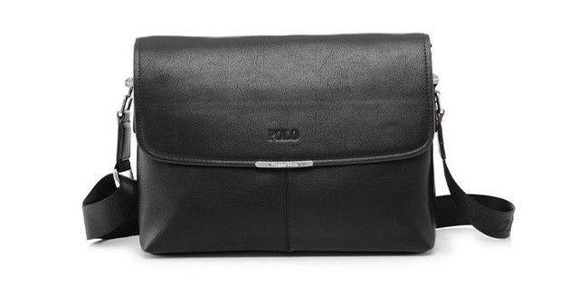 2017 New PU Leather Men's Messenger Bags Quality Casual Mens Briefcase Bag Portfolio Men Black Brown Color Bolsos Hombre VP-2