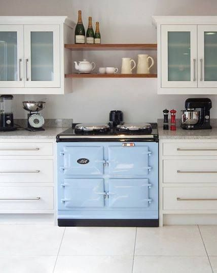 A really pretty kitchen especially if it has an aga for Modern kitchen design with aga