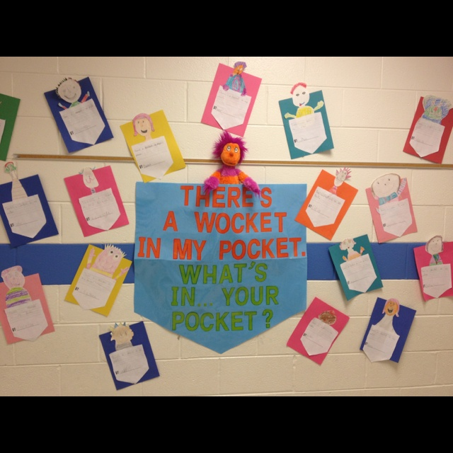 There's A Wocket In My Pocket By: Mrs. Kaylor's