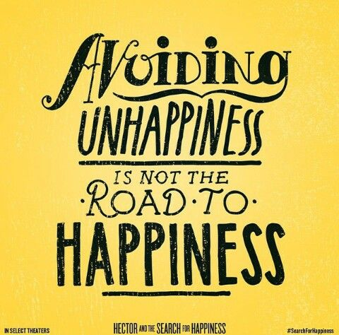 Avoiding unhappiness is not the road to happiness - Hector and the Search for Happiness