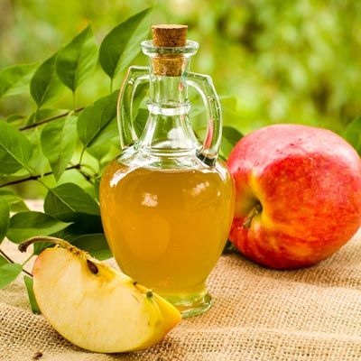 Apfelessig gegen Pickelmale