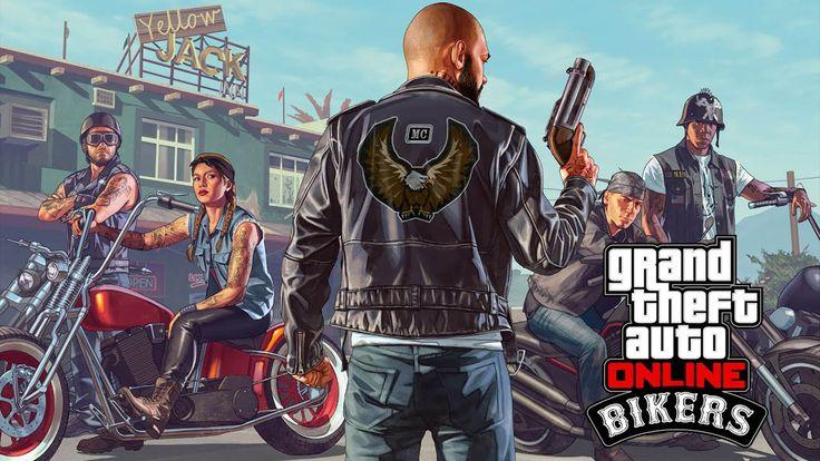 Bikers - GTA 5 Online Update DLC 1920x1080 wallpaper